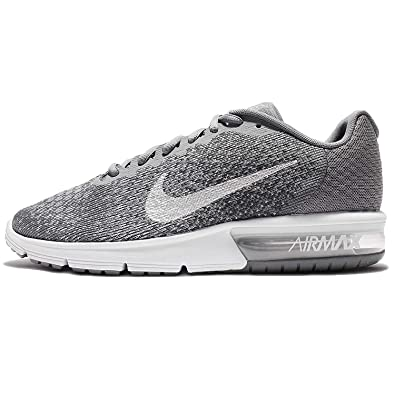 cheaper 5cbc2 6d72a Nike Men s Air Max Sequent 2 Running Shoe (8. 5 D(M) US, Cool Grey Metallic  Silver)  Buy Online at Low Prices in India - Amazon.in