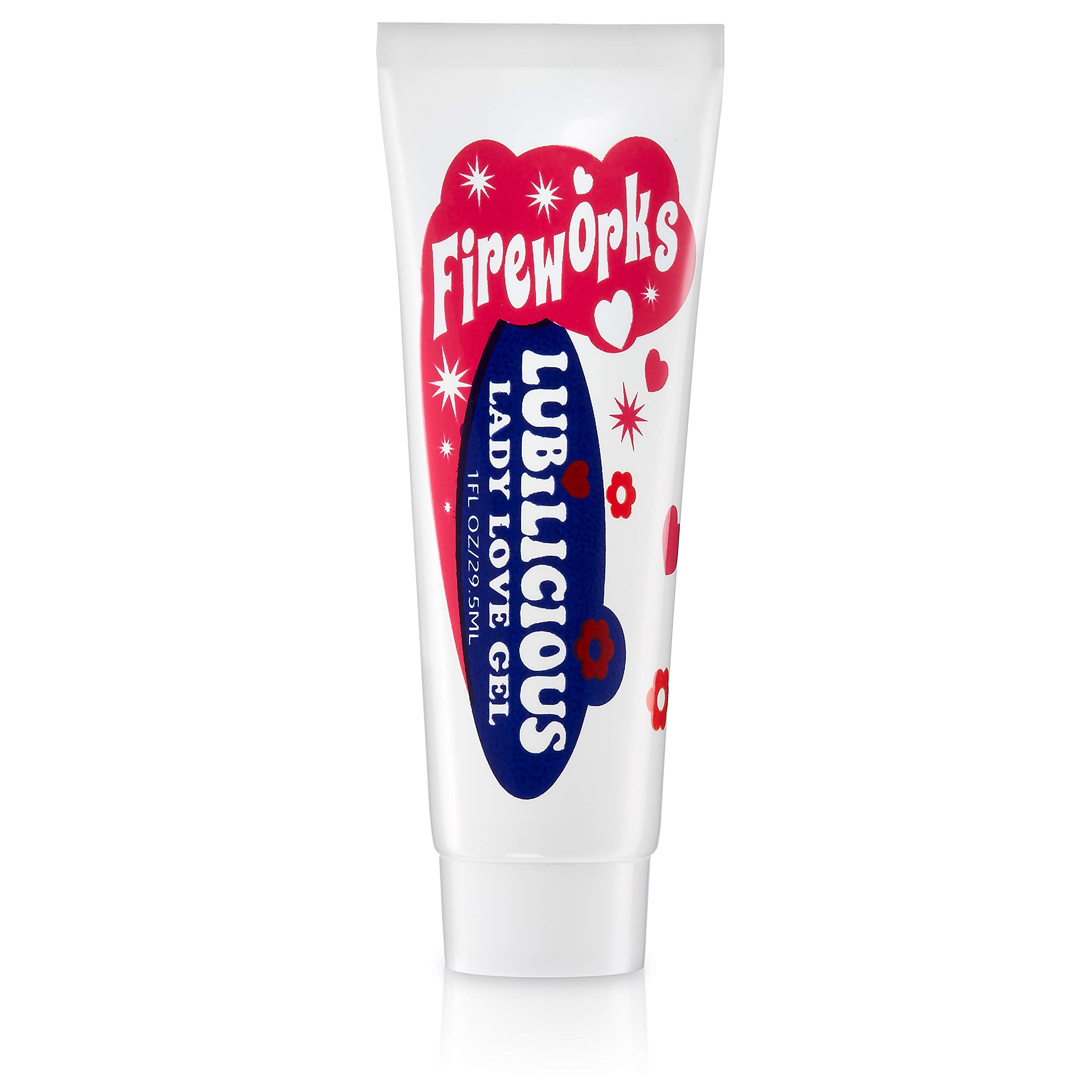 Lubilicious Fireworks Lady Love Gel | Enhances Female Arousal & Libido | Heightened Orgasm | Natural Stimulation for Maximum Climax | Personal Lubricant | Warming & Cooling (30 ml)