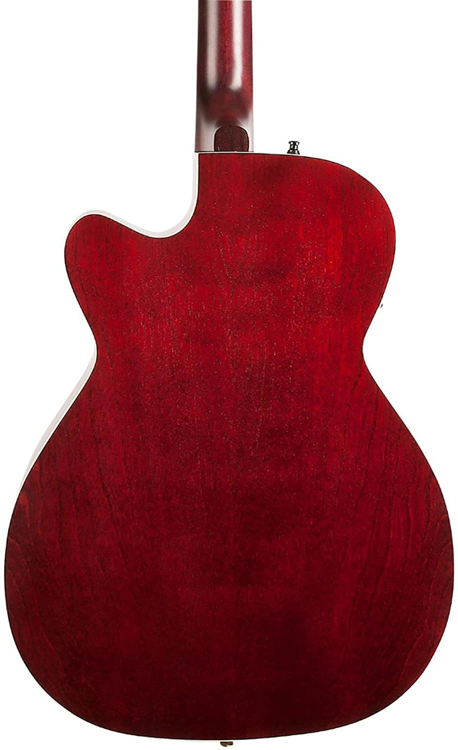 Art /& Lutherie Legacy Concert Hall Cutaway Acoustic Guitar with Godin Q1T Tennessee Red