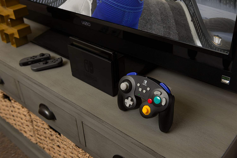 Amazon com: PowerA Wireless GameCube Style Controller for Nintendo