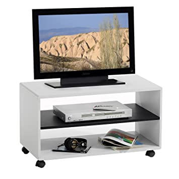 IDIMEX TV-Möbel TV-Rack Lowboard Fernsehtisch TV-Tisch TV-Element ...