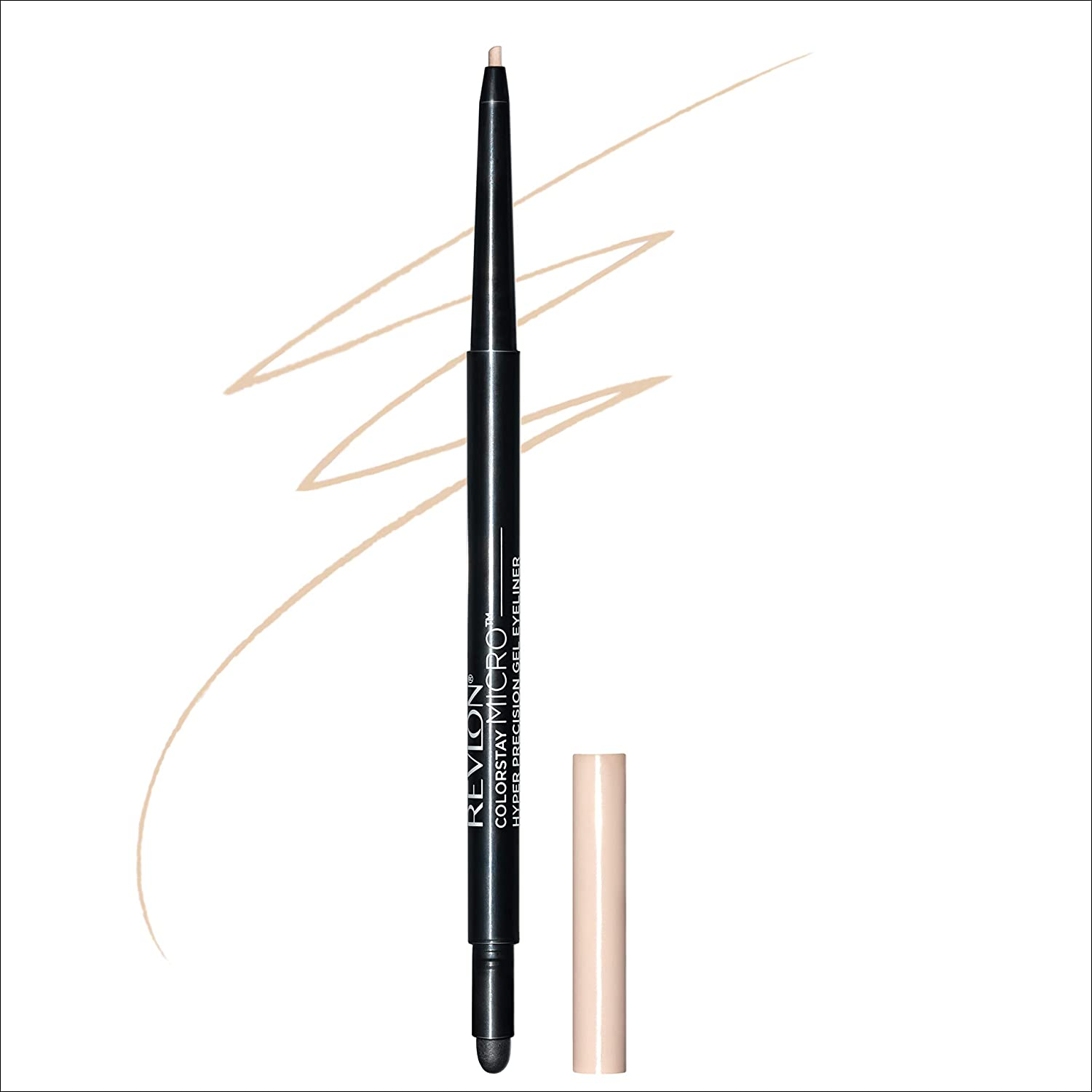 Revlon Colorstay Micro hyper Precision Gel Eyeliner, Waterproof, Long wearing, 0.009 oz, beige