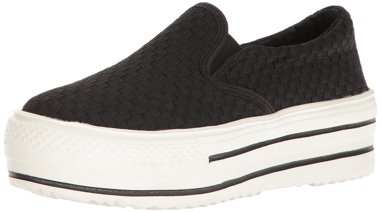 Bernie Mev Women's High Vee Fashion Sneaker B01N6KRO75 36 EU/5.5-6 M US|Black