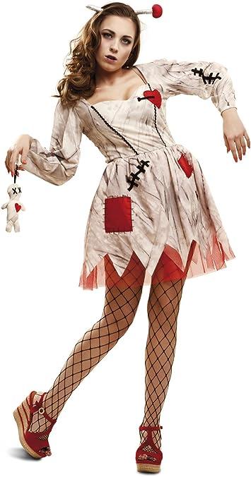 My Other Me - Disfraz de muñeca vudú, para adultos, talla M-L ...