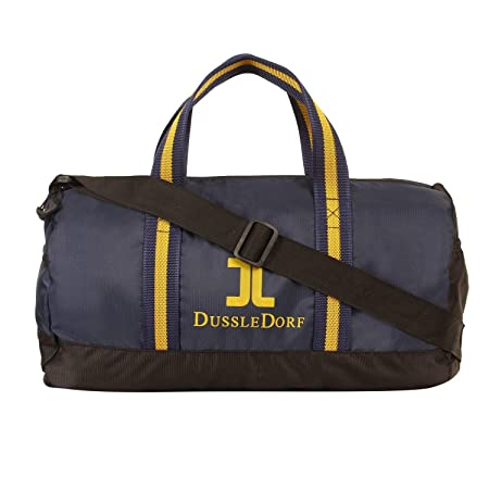 Dussle Dorf Polyester 38 cm Navy Blue Travel Duffel Bags
