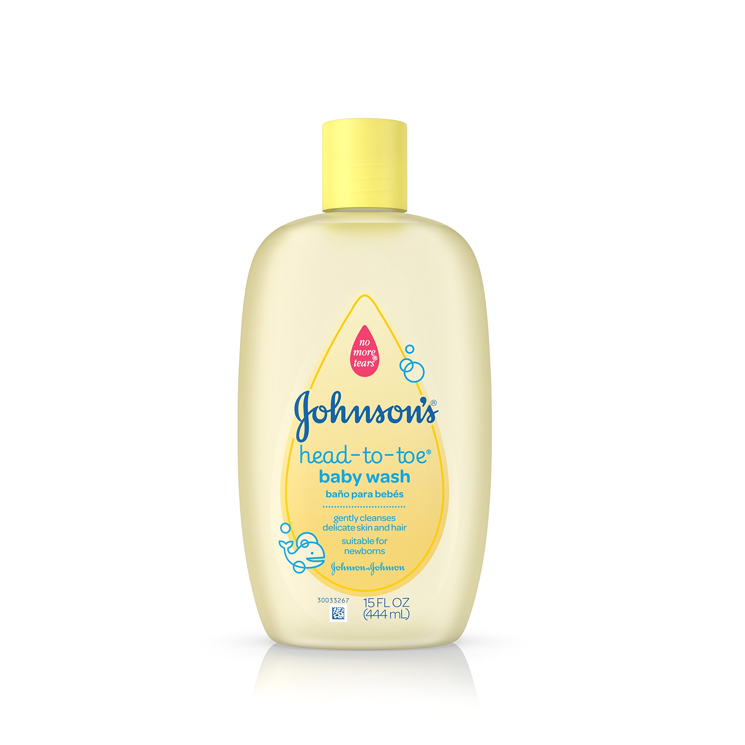 Johnson's Head-To-Toe Baby Wash, Gentle Cleanser, 15 Fl. Oz. (Pack of 2) by Johnson's Baby