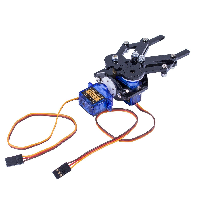 SunFounder Standard Gripper Kit Paw for Robotic Arm Rollarm DIY Robot Arduino Uno Mega 2560 Nano by SunFounder (Image #5)
