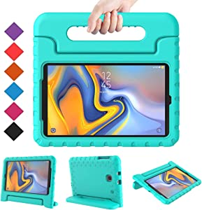 BMOUO Kids Case for Samsung Galaxy Tab A 8.0 2018 SM-T387, Shockproof Light Weight Protective Handle Stand Kids Case for Galaxy Tab A 8.0 Inch 2018 Release SM-T387 - Turquoise