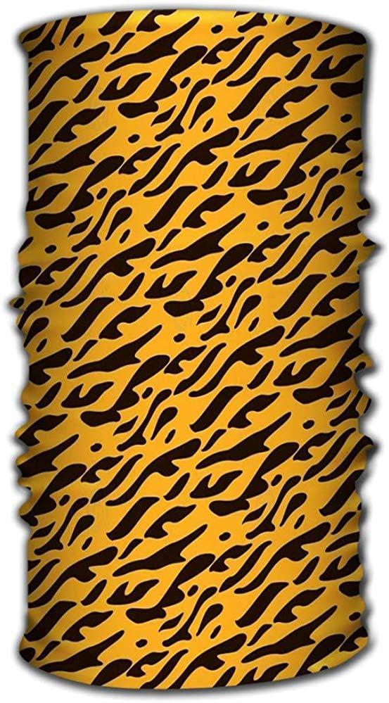 Copricapo a rapida asciugatura Bandana magica come collo Ghetta Testa avvolgente Sciarpa Fascia Maschera ultra elastica Concetto Bella pelle di animale Bella pelle di animale Sognante