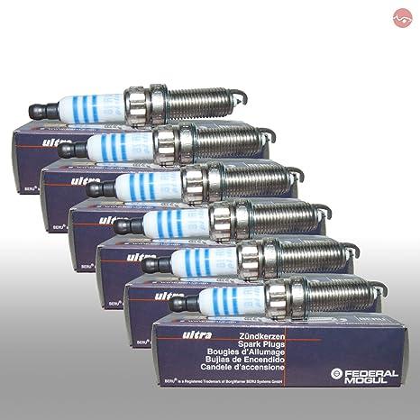 6 x Beru Bujía Ultra Z332 Laser Platinum