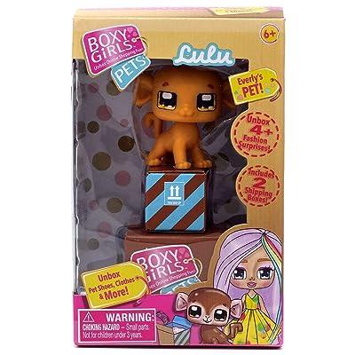 Boxy Girls Pets, Lulu The Monkey: Toys & Games