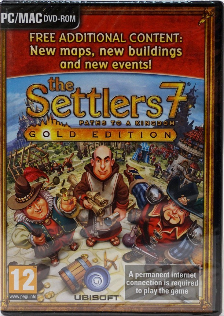The Settlers 7 Paths to a Kingdom Gold Edition on
