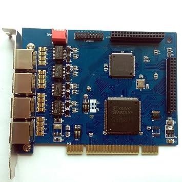 TE405P PRI E1 Tarjeta PCI de 4 puertos PRI E1/T1,Asterisk,Elastix,Freepbx: Amazon.es: Bricolaje y herramientas