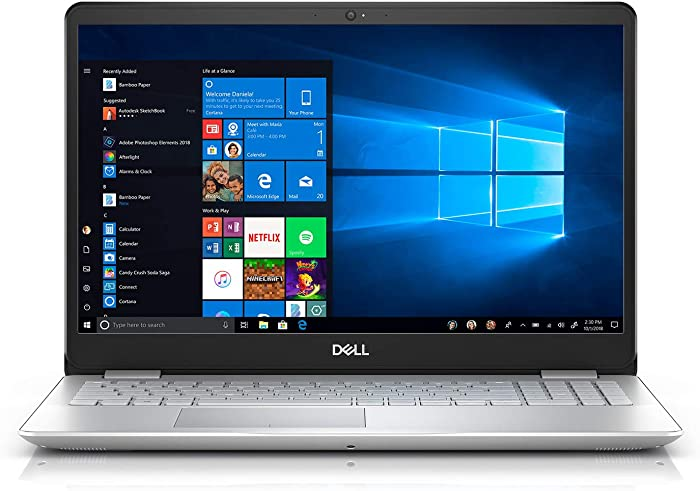 Dell Inspiron 15 5584 Laptop, 15.6 Screen, Intel Core i5, 8GB Memory, 256GB Solid State Drive, Windows 10 Home, I5584-5868SLV-PU