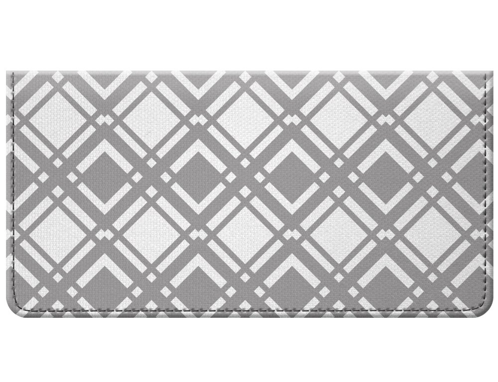 Snaptotes Diamond Shapes Design Style Checkbook Cover