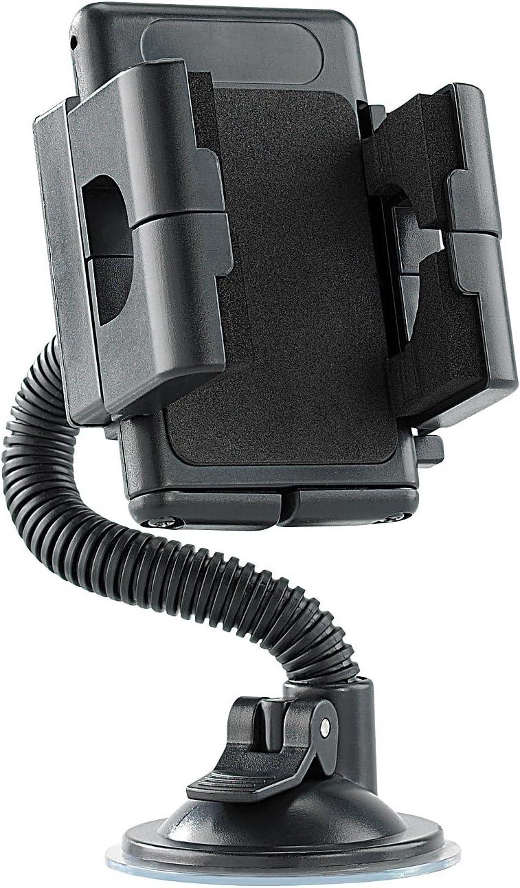 Lescars Smartphone Halter Kfz Halterung Mit Elektronik