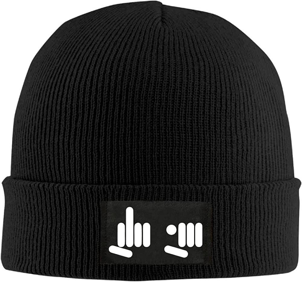 Cool Beanie Fuck You Hands Giving Finger Funny Design Skully Hats