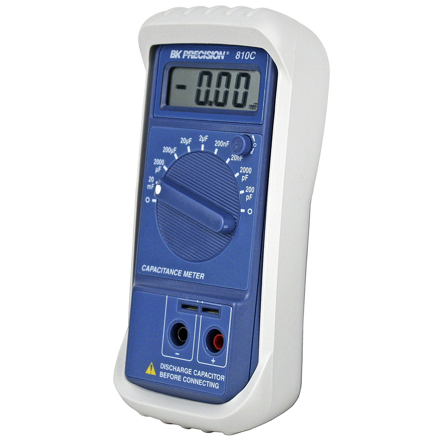 Bk Precision 810c Compact Capacitance Meter Capacitor What Device Is Used To Check Capacitors In Electronic Circuits Industrial Scientific
