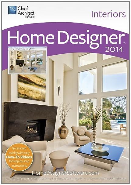 Amazon Com Home Designer Interiors 2014 Software