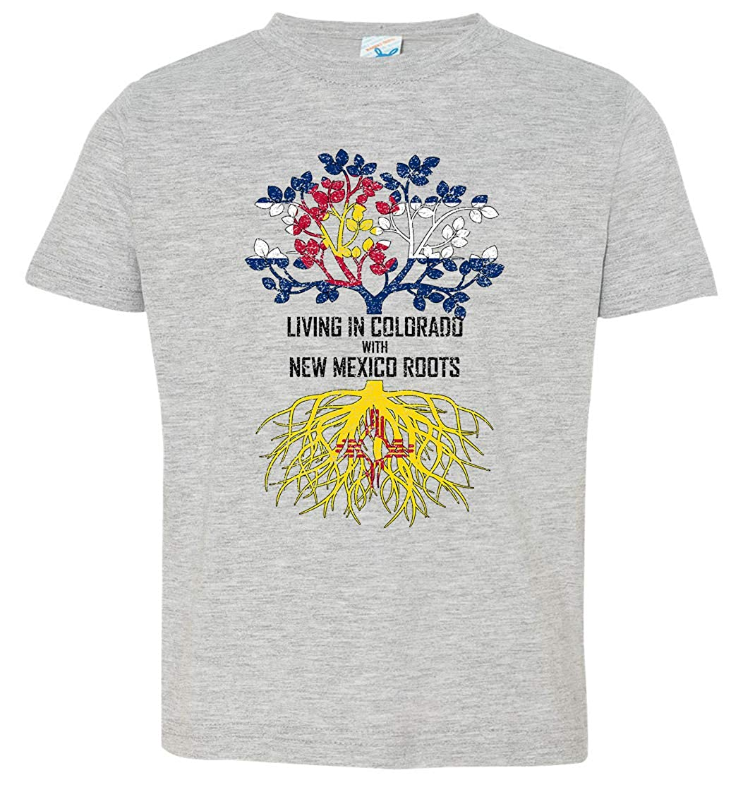 Tenacitee Babys Living in Wisconsin Mexico Roots Shirt