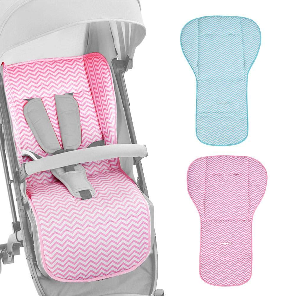 whelsara Baby Carriage Cushion Baby Stroller Stroller Cushion Cotton Pad Four Seasons Universal Children Cotton Baby Dining Chair Warm Cushion Carefully