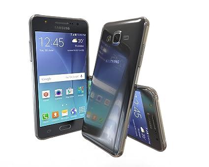 SDTEK Funda para Samsung Galaxy J5 (2015) [Transparente ...
