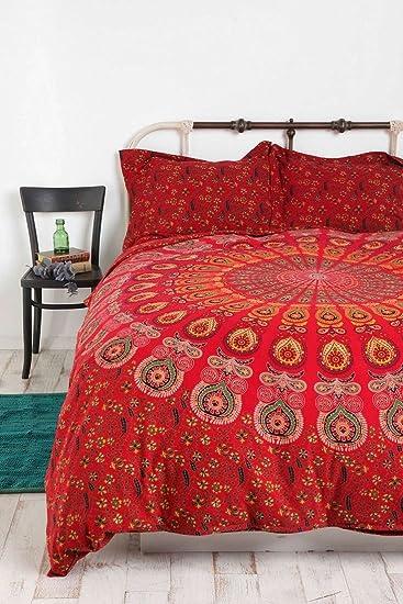 Indian Mandala Duvet Cover Queen size Blanket Quilt Cover Bedspread Bedding  Comforter Cover. Amazon com  Indian Mandala Duvet Cover Queen size Blanket Quilt