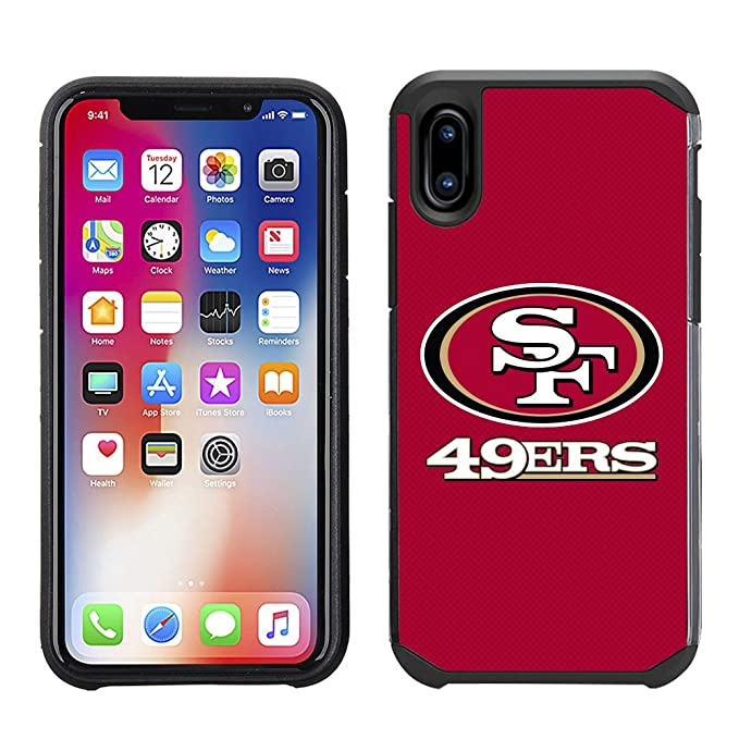 a4f31537f55 Amazon.com  Prime Brands Group Cell Phone Case Apple iPhone X - NFL ...