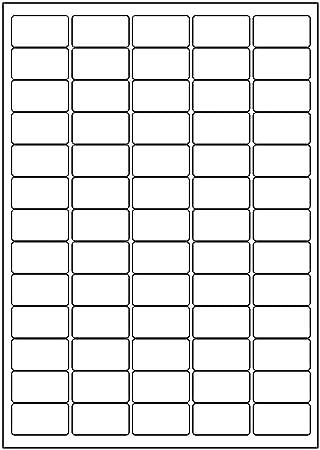 100 Sheets Quality Mini Address Labels 65 Per A4 Sheet 6500 Labels