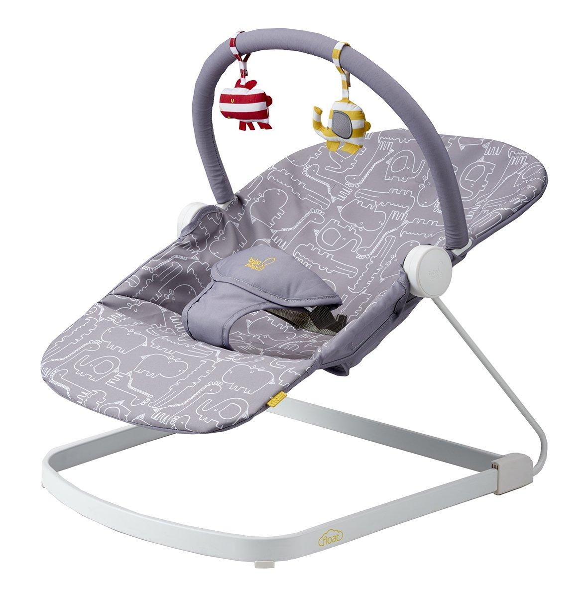 046682a10 Bababing! Float Baby Bouncer (Grey)  Amazon.co.uk  Baby