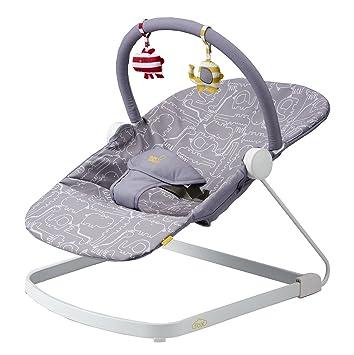 b373157b0cfc Bababing! Float Baby Bouncer (Grey)  Amazon.co.uk  Baby