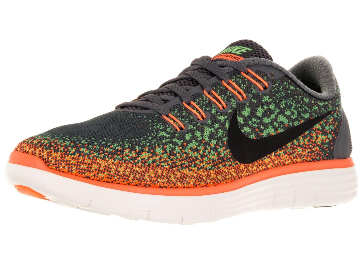 Nike Free RN Distance, Zapatillas de Running para Hombre 43 EU|Gris