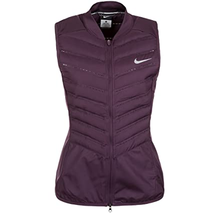 9f1f734f3e3f Amazon.com  Nike Aeroloft 800 Women s Running Vest Noble Purple ...