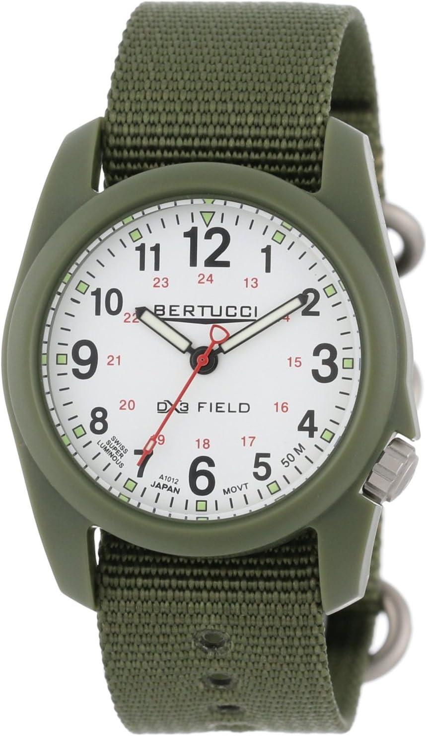 Bertucci DX3 Field Watch | White/Forest