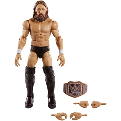 WWE Daniel Bryan Elite Collection Action Figure, Multi: Toys & Games