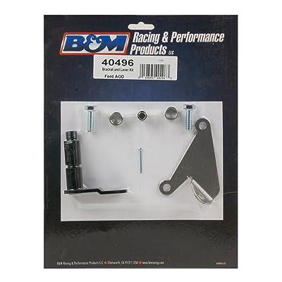 B&M 40496 Bracket And Lever Kit: Automotive