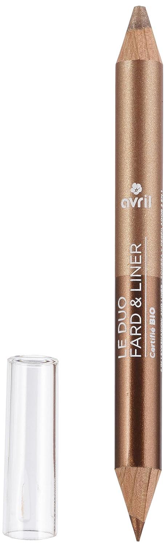ABRIL Duo Sombra/Liner bronce cobre/Beige dorado 2g–Lote de 2 Avril 3662217006540