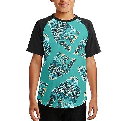 2deb8a68c96 West Eastern Gorilla Youth Short Sleeves Raglan Print Baseball T-Shirts Tops