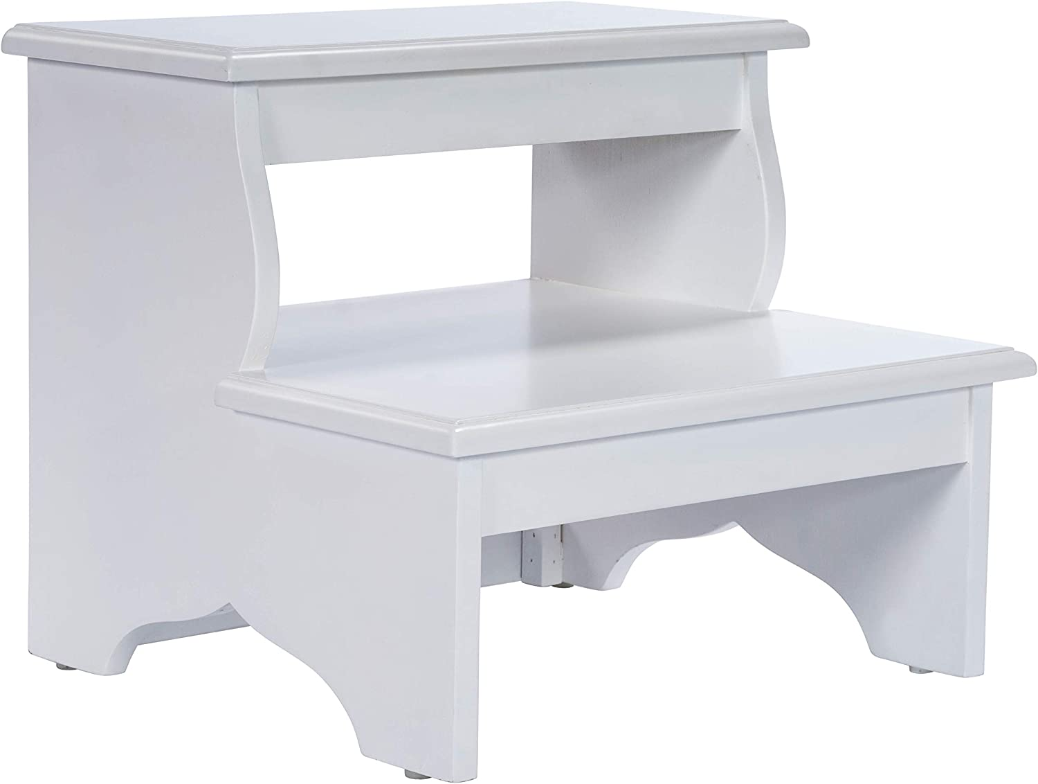 Butler Specialty Company Melrose Stepping Stool with 2 Steps in White