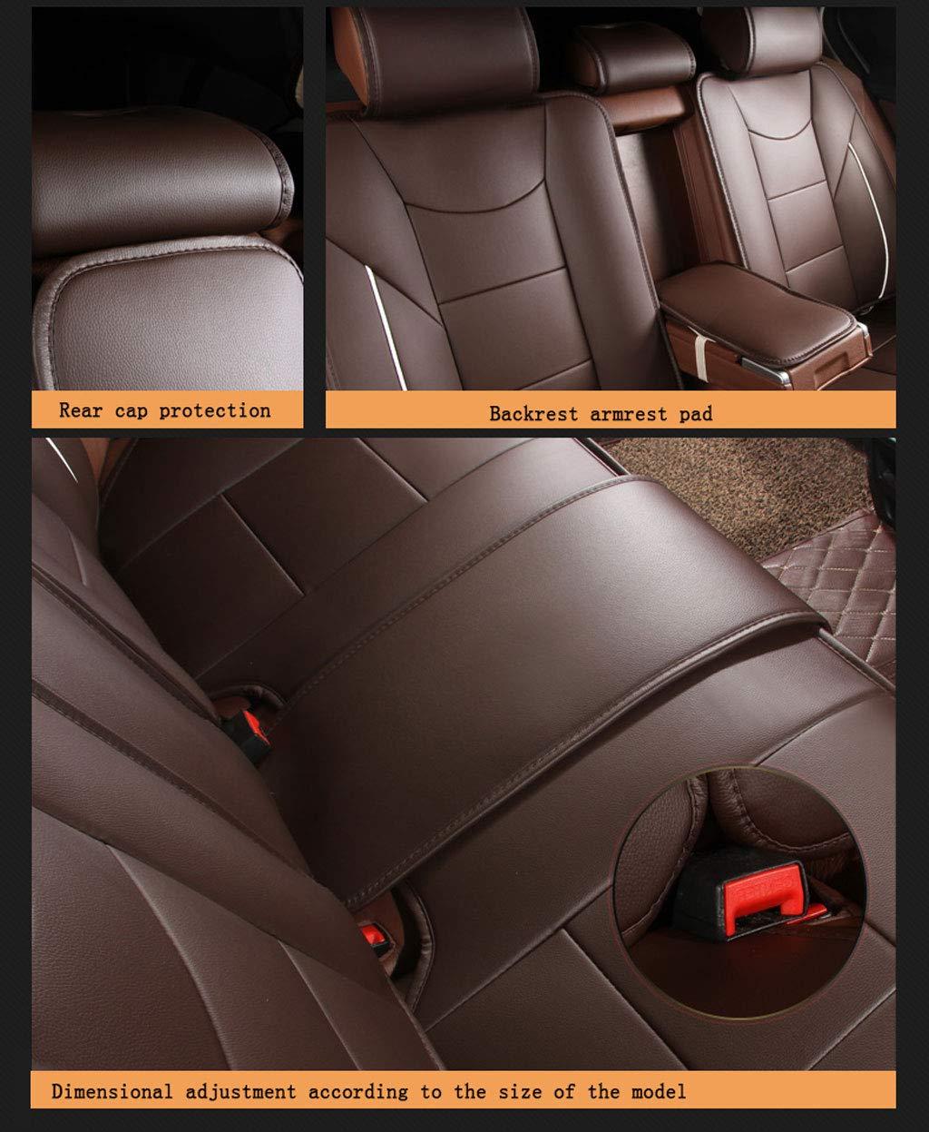 coprisedile per Auto in Pelle di Lusso CHJ 360/° Audi A3 A4l A6l Q3 Q5 A5