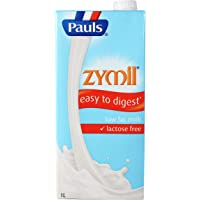 Pauls Zymil Lactose Free Low Fat UHT Milk, 1L
