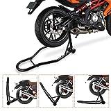 YITAMOTOR Sport Bike Motorcycle Rear Wheel Swingarm Spool Paddock Lift Stand