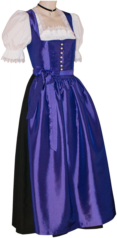 Gr.34-46 Dirndl Festtracht Trachten-Kleid Trachtenkleid Dirndlkleid lila violett