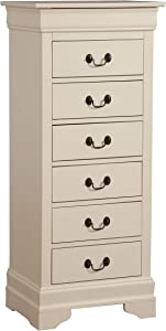 Glory Furniture Lingerie Chest, Beige