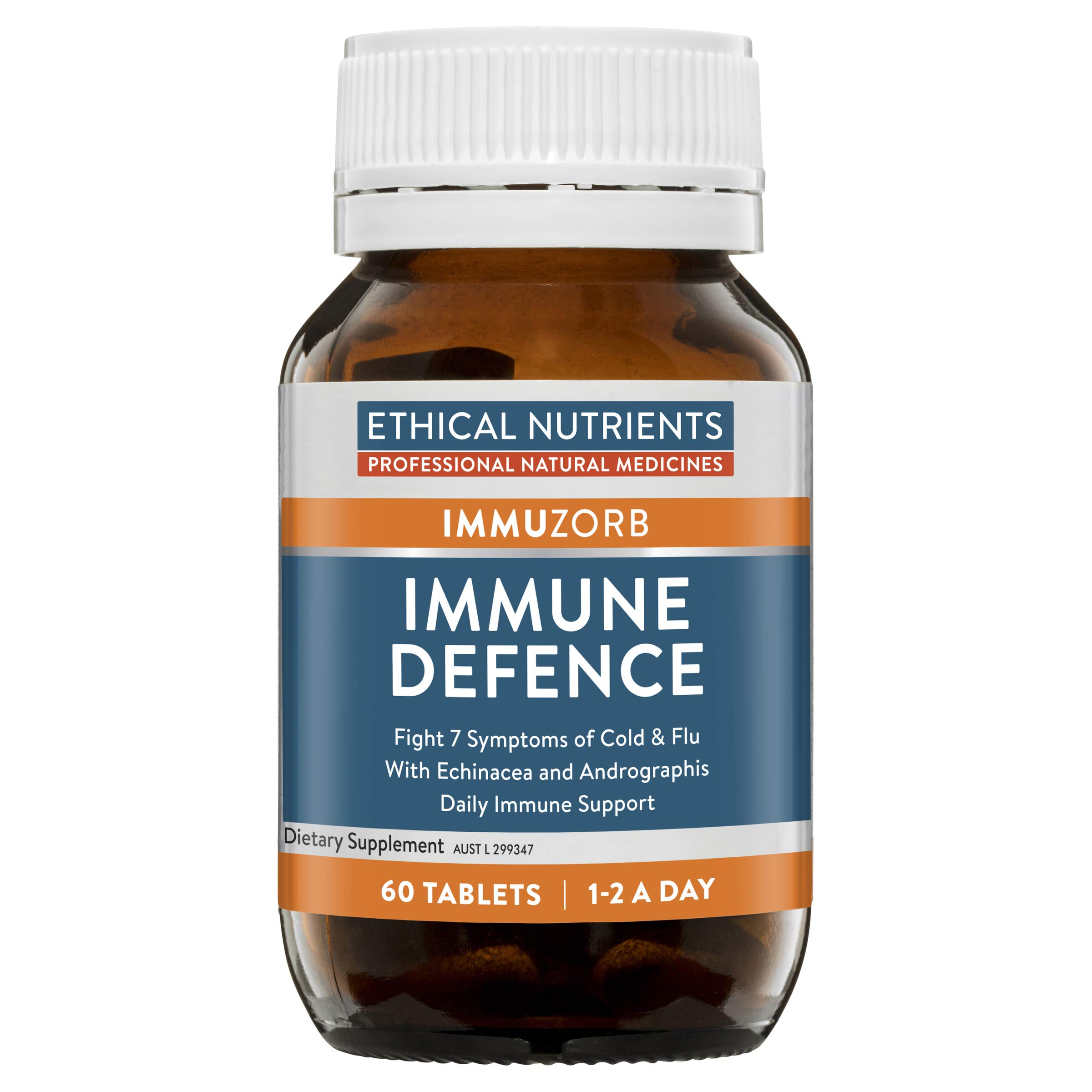 Ethical Nutrients Immune Defence Cough Cold Relief 60 Tabs by Ethical