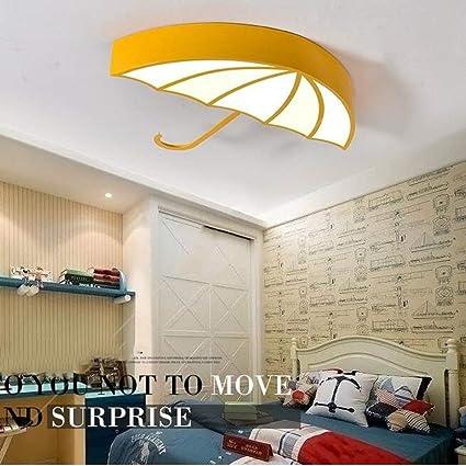 HYW Luz de Techo- Paraguas Creativo habitación para niños led Luces de Techo para niño