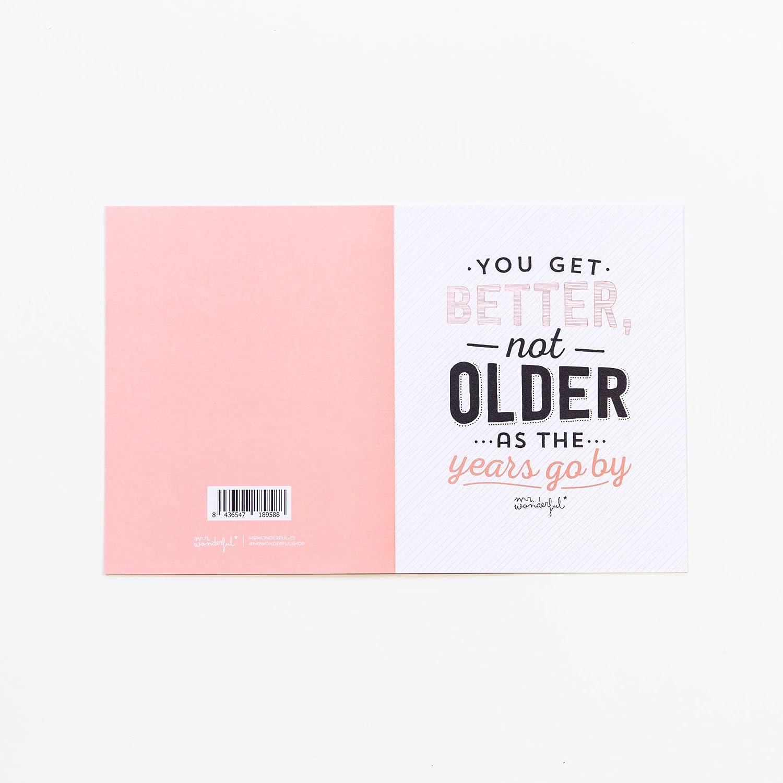 Amazon.com : Mr. Wonderful woa01297 - Greeting Card with ...
