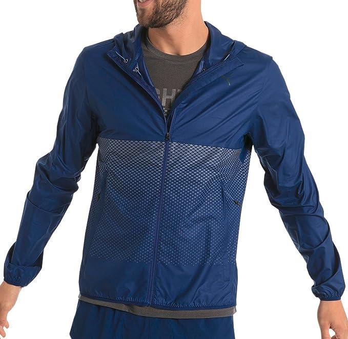 designer fashion 57efc ee450 Puma Nightcat Giacca da Running da Uomo - Blu, Blue, L ...