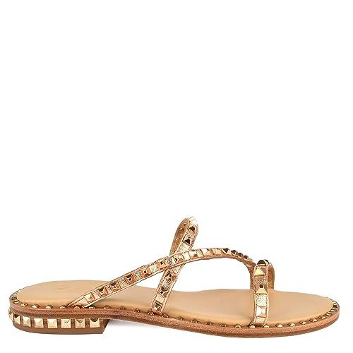 Cuero Ash Peace Footwear Rosado Sandalias PlanasDe Bis xdsQCthr