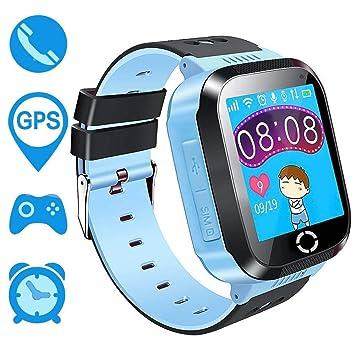 Niños GPS Smartwatch, bohongde 1.44 reloj inteligente pulsera para niños niñas niños con